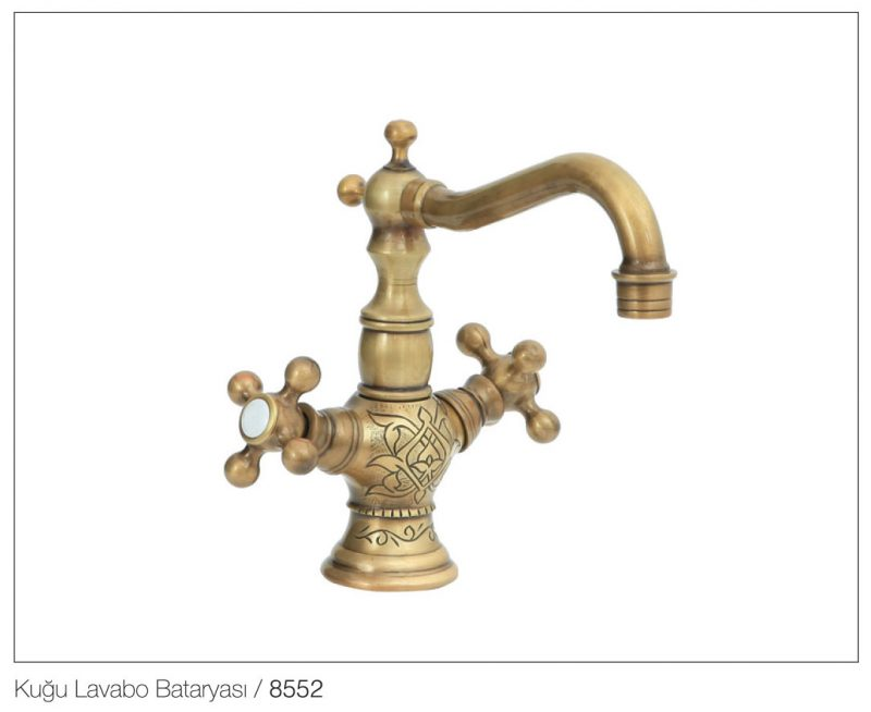 Fym Banyo Bathroom Accessories Batarya Serisi Victorian Star Antique Series 8552